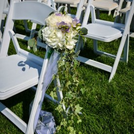 Outdoor Aisle Decor
